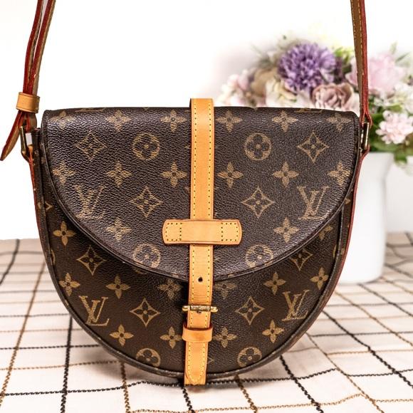 LOUIS VUITTON Chantilly MM Crossbody Bag